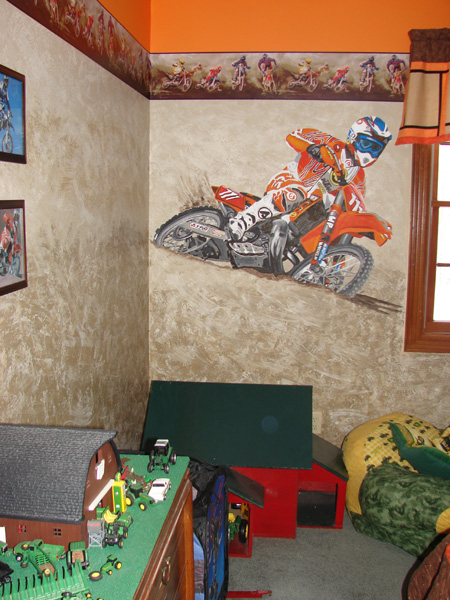 Dirt bike wall murals for Dirt bike wall mural
